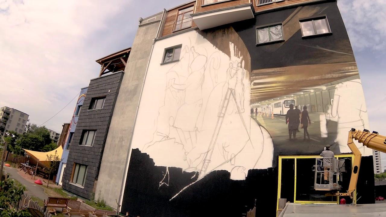 Tasso Mural | Berlin Mural Fest 2018 | Streetart Urban Art