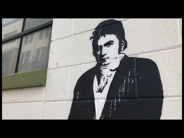 Famed French Muralist Blek Le Rat Brings His Art to North