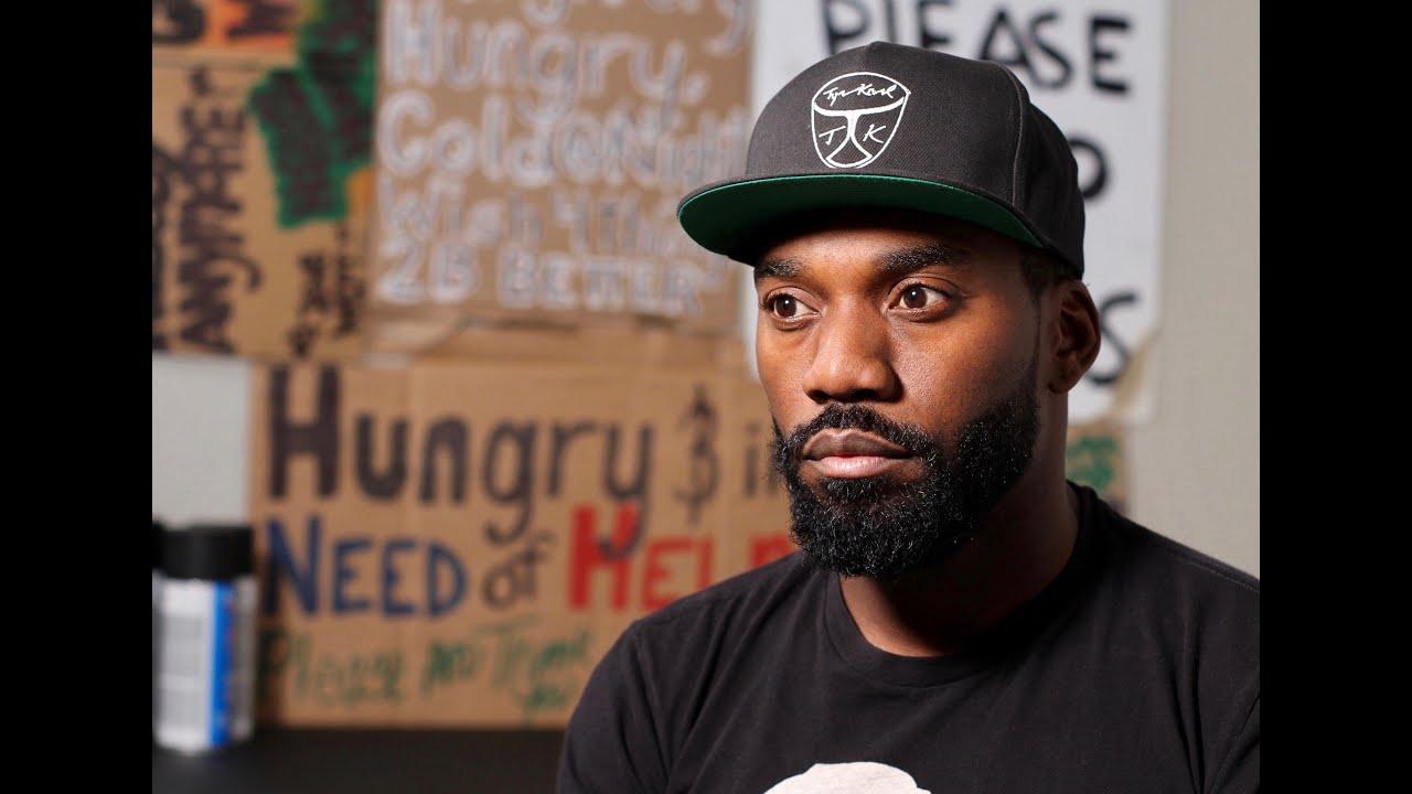 The Art Of Hustle: Homeless Street Artist Documentary